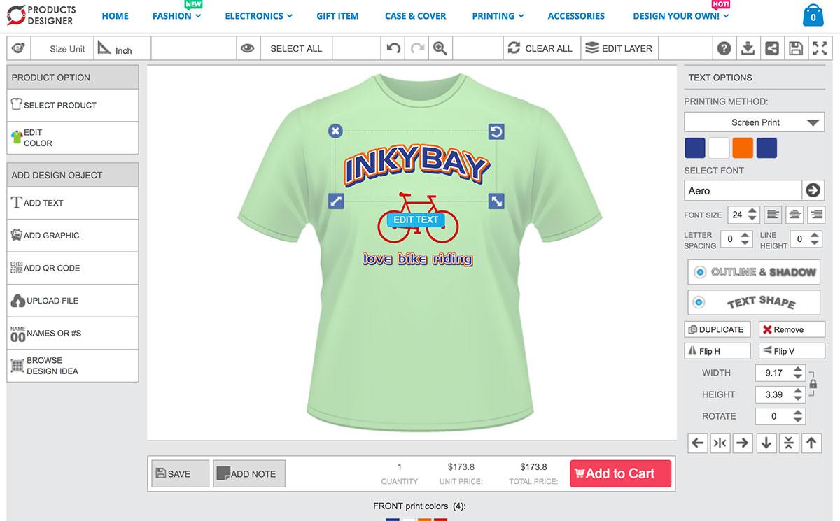 Design t shirt program -  T Shirt Design Software Simple Designer Layout Choose From Different Layout Download
