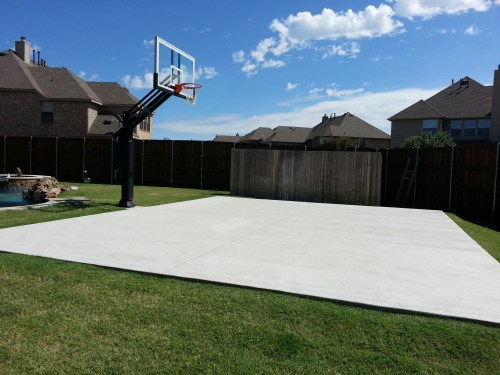 Medium Of Backyard Basketball Court