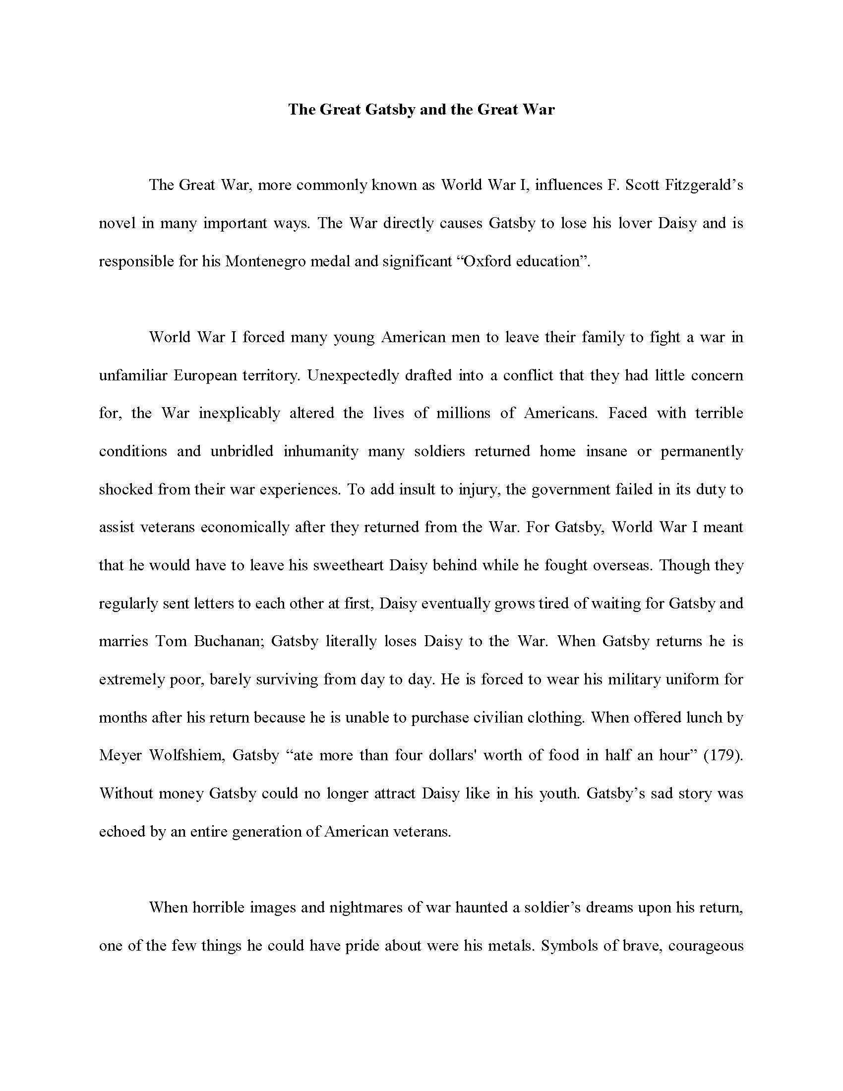 example of a great essay template example of a great essay - Example Of Analogy Essay