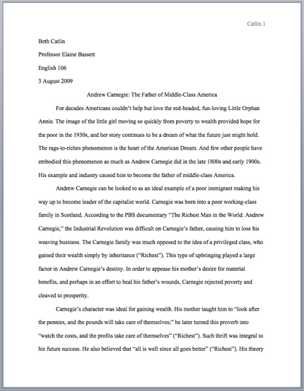 MLA Format Research Paper Writing Help Outline Example, Paper Topics