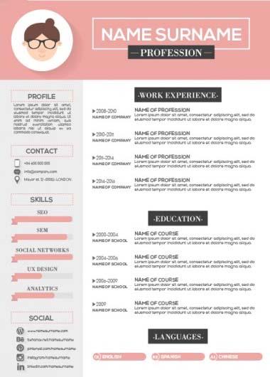infographic resume service