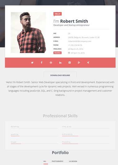 cv onlain - Josemulinohouse - online resume website