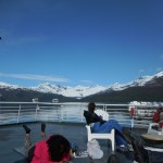 On a Boat in Prince William Sound, Alaska