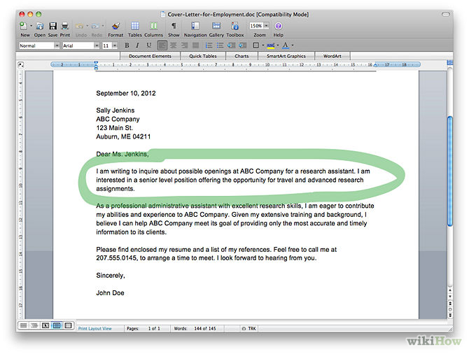 How To Do A Cover Letter - Lettoki