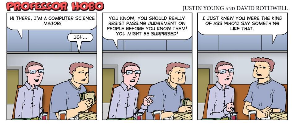 Resist Passing Judgement