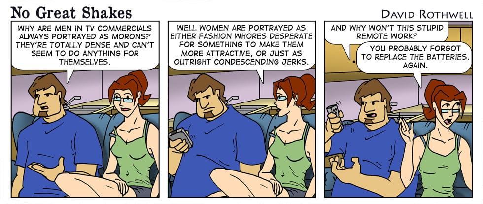 Gender Media Representations