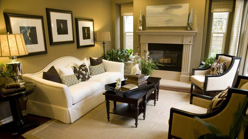 Selecting End Tables for your Living Room - living room end table