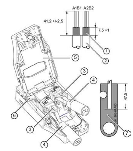 profibus connector wiring