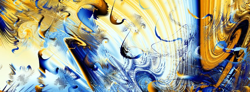 Sarcastic Wallpaper Quotes Blue And Yellow Abstract Facebook Cover