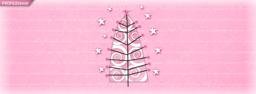 Cute Pink Snowman Wallpaper Pink Christmas Tree Facebook Cover Pink Christmas Trees
