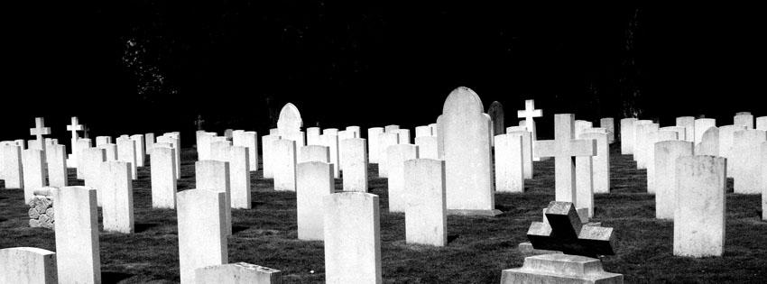 Dark Theme Wallpaper Hd Quote Creepy Graveyard At Night Facebook Cover Halloween