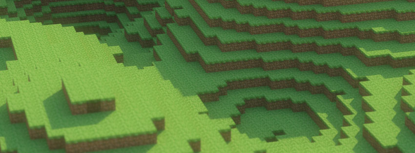 Free Fall Wallpaper 1920x1080 Minecraft Scenery Facebook Cover