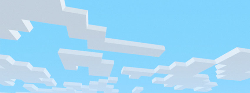 The Fall Guy Wallpaper Minecraft Clouds Facebook Cover