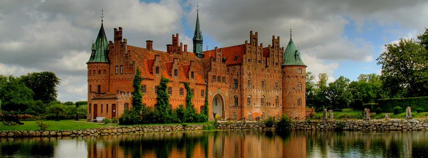 Free Fall Halloween Wallpaper Denmark Castle Facebook Cover