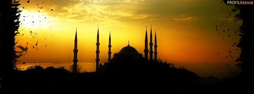 Dark Theme Wallpaper Hd Quote The Blue Mosque Istanbul Turkey Facebook Cover