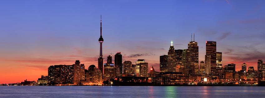 Scenic Fall Wallpaper Toronto Canada Skyline Facebook Cover