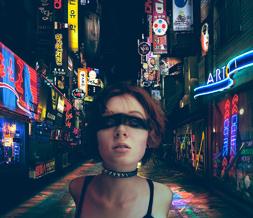 Droid 2 Wallpapers Girl Cool Cyberpunk Wallpaper Punk Girl Background