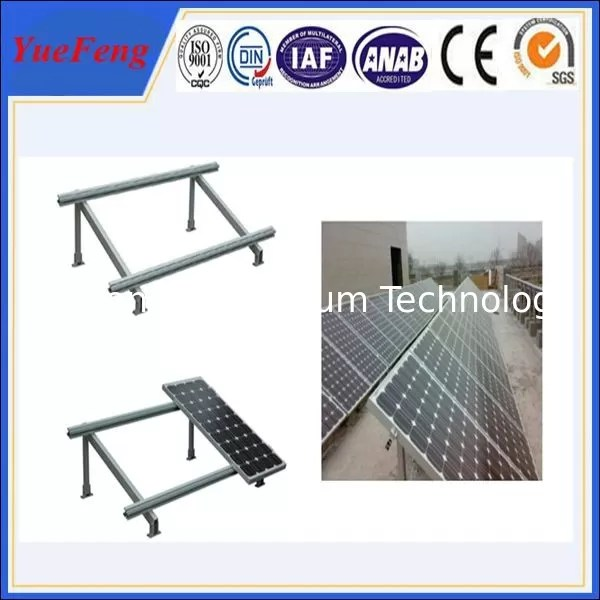 Single Cloumn Steel Solar Panel Mounting Bracket Solar