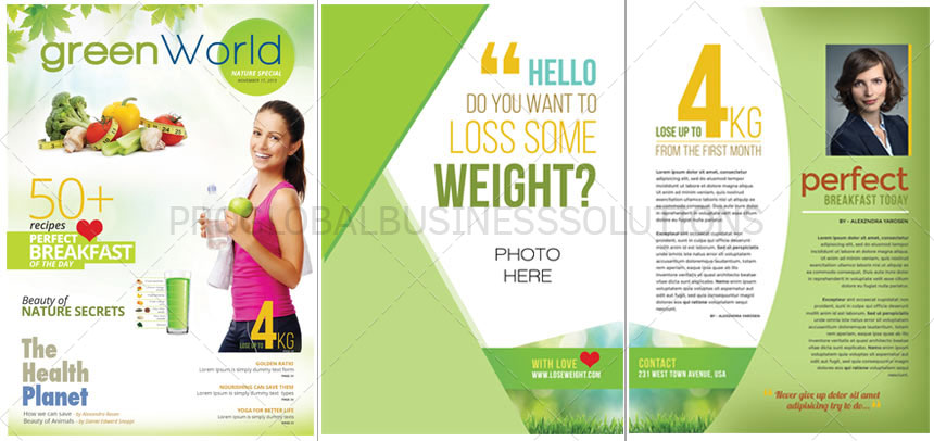 Magazine Layout Design Services for Business, Corporates - PGBS