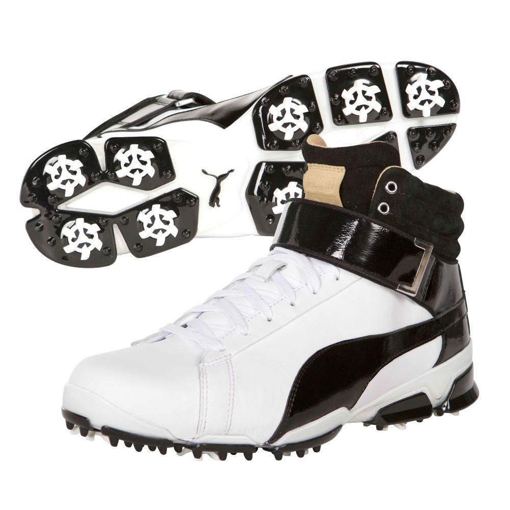 Rickie Fowler wears the IGNITE Hi Tops from Puma.