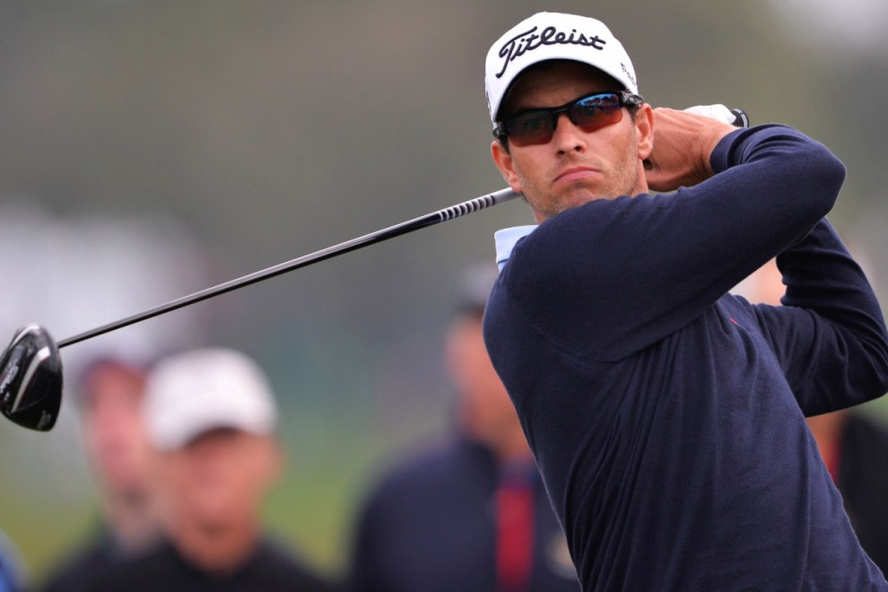 Adam Scott comes in at No. 2 in this week's Power Picks for the WGC-Bridgestone Invitational. Credit: Getty