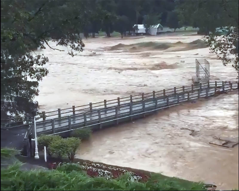 The Greenbrier Classic is in two weeks, and this is one of the holes. Credit: Bubba Watson