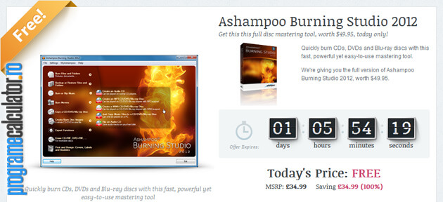 Ashampoo Burning Studio 2012 Gratis