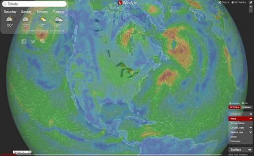 Add Interactive Animated Weather Forecasts with Windyty API