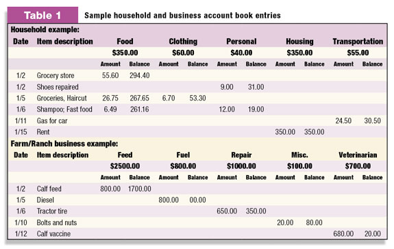 Tracking your income and expenses - Progressive Dairyman