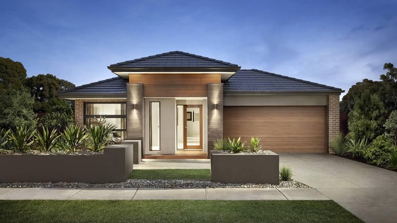 Proiect de casa - parter cu garaj, Ashwood