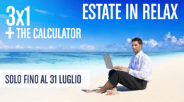 Offerta estate in relax: 3 E-books al prezzo di 1 + The Calculator