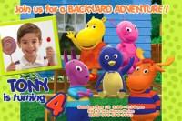 THE BACKYARDIGANS BIRTHDAY PARTY INVITATION PHOTO pool ...