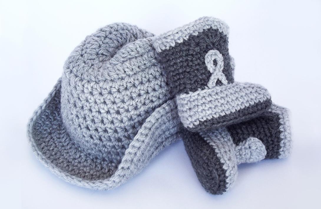 Project 003 Cowboy Boots Free Crochet Pattern
