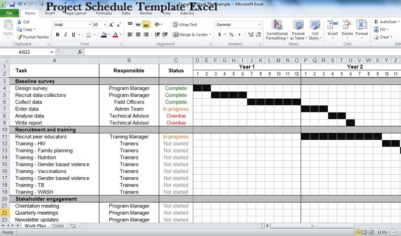 Production Schedules Excel hunecompany - sample production schedule template