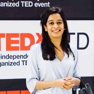 Prerna Mukharya, Founder Outline India, TEDx Speaker, Speaker at Emerging Markets Summit, Forbes 40 under 40