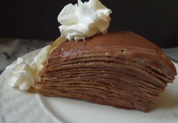 Crepe Cake with Chocolate-Rum Mousse - Project Pastry Love