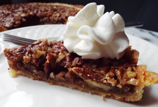 ... to survive the week. Well, alcohol and a really good pecan rum tart