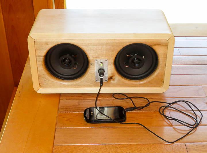 My Custom Designed 25w Rms Ipod Mp3 Player Speaker Sound