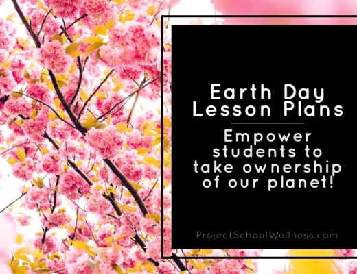 Earth Day Lesson Plans - Insta Photo, Project School Wellness, Freebie, TPT, Health