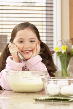 Activities in the kitchen with preschoolers