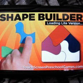 Shape Builder puzzle game - a preschool iPhone app