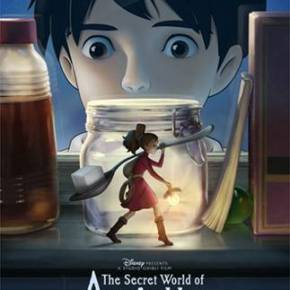 The Secret World of Arrietty activity and coloring pages