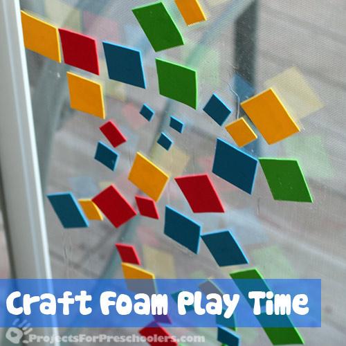Craft Foam Play
