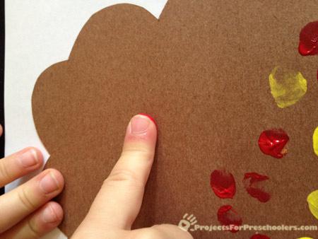 make fingerprints on paper