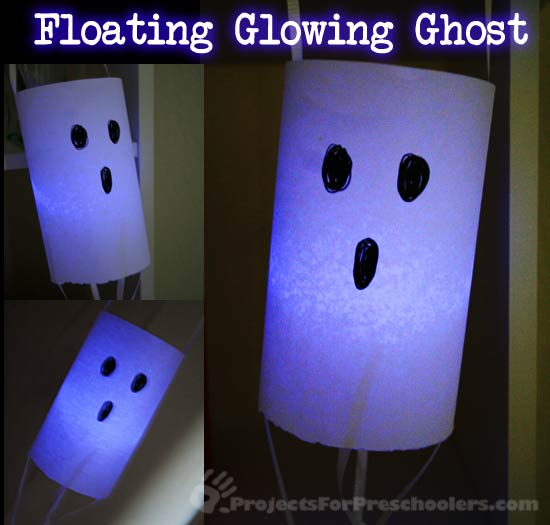 Floating paper ghost craft