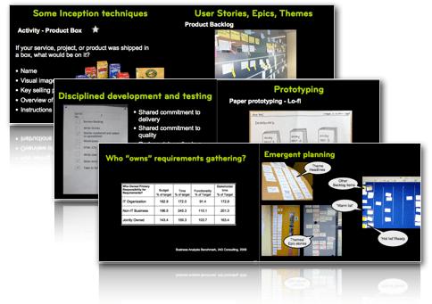 Agile Training: Agile Business Analysis course