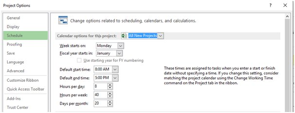 The Great Microsoft Project Calendars Mysteries Unravelled