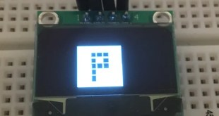 mini oled affiche display bitmap sparkfun library