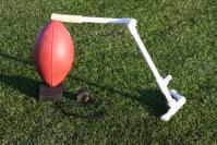 Kicking Holder and Kicking Block-High School Field Goal ...