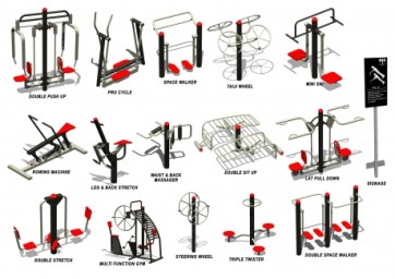 OUTDOOR GYM (all in 1)-14eq